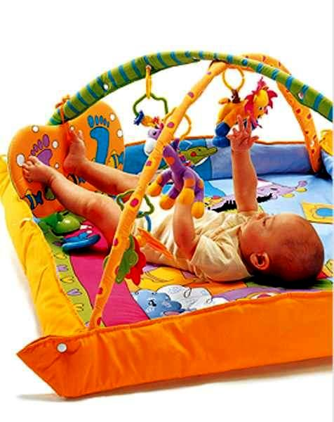 Со скольки месяцев можно использовать развивающий коврик